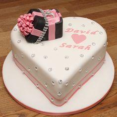 Custom Engagement Ring Box Cakes Designs 38