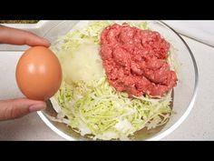 Sogar Oma war fassungslos, nachdem sie es versucht hatte! Besser als Burger! - YouTube Quick Recipes, Brunch Recipes, Beef Recipes, Dinner Recipes, Cooking Recipes, How To Cook Meatballs, Ground Meat Recipes, Hamburgers, Kitchen Recipes