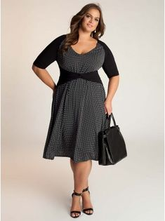 Plus Size Designer Clothes Kinsley Plus Size Dress by