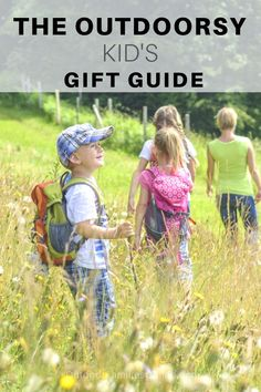 Keep your adventurers safe when exploring, with these outdoor safety tips for kids, plus get our expert's essential gear list and be prepared outdoors. Outdoor Gifts For Kids, Outdoor Activities For Kids, Infant Activities, Fun Activities, Raising Kids, Kids Playing, Awesome Gifts, Gift List, Gift Guide