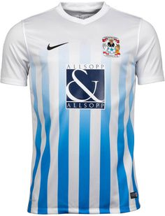 Coventry City Home and Away Kits Released - Footy Headlines Football Uniforms, Football Kits, Soccer Jerseys, Rugby, Coventry City Fc, British Football, T Shirts