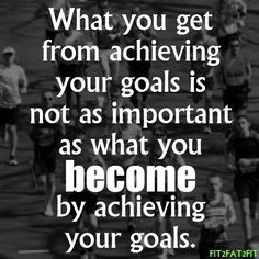 What you get from achieving your goals is not as important as what you become by achieving your goals!  Come get your fitness on at Fitness Together in Novi, MI!  Get personal one-on-one-training, a nutrition guideline, and other services that will change your life for the better!  Call (248) 348-9230 or visit our website www.fitnesstogether.com/novi for more information!