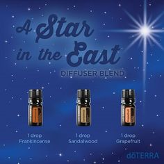 A Star in the East essential oil diffuser blend