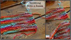 Knitting with a Knook