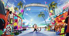 Artes de Joey Chou para o filme VIVO, da Sony Animation | THECAB - The Concept Art Blog 1 Peter, 1 John, Joey Chou, Sony, Studios, Fred, Visual Development, Art Blog, Great Artists