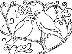 Resultado de imagen de coloriage d'oiseaux exotiques à imprimer