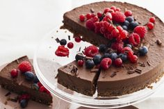 Packed with superfoods, protein + health fats, this chocolate superfood tart is a delicious way to energize the body. Dairy-free, Gluten-free, Vegan, Paleo.