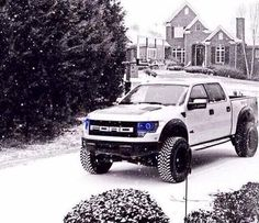 Ford Raptor.. Its gorgeous!! He is definitely it! :*