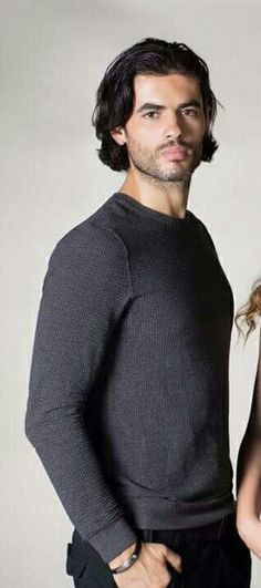 Nik Xhelilaj Bearded Men, Men Sweater, Celebs, Actors, Long Sleeve, Sleeves, Mens Tops, T Shirt, Nice