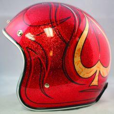 Custom painted Biltwell helmets