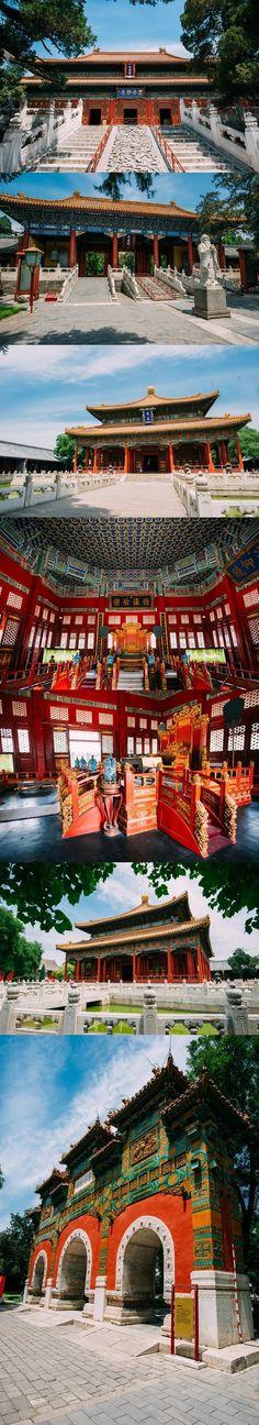 Confucius Temple in Beijing China