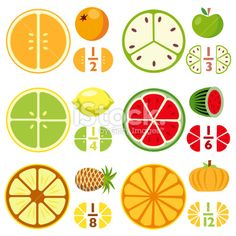 fruit fraction printables - Google Search