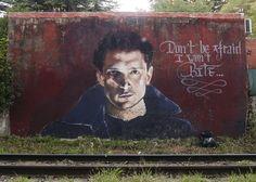 By @spear_paintings in Belgium -  http://ift.tt/1OwtVdO #globalstreetart by globalstreetart