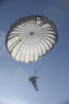 A paratrooper from the 982nd Combat Camera Company (Airborne) jumps at Plantation Airpark, Sylvania, Ga., March 20, 2015.  (U.S. Army photo by Spc. Tracy McKithern/ Released)