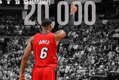 LeBron James Youngest Ever to Score 20,000 Points in NBA History