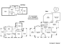 Floor plans of homes for sale