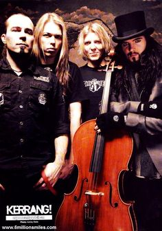 Apocalyptica! The great Finnish cello-metal band!