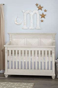 Kingsley Sedona Crib in Vintage Ivory #kingsley #crib #nursery