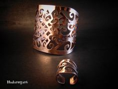 Podoabe din cupru handmade by hadarugart on DeviantArt Cuff Bracelets, Gold Rings, Deviantart, Mugs, Tableware, Handmade, Romania, Jewelry, Dinnerware