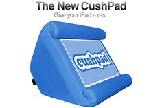 The New CushPad™ - For iPad 2 and the New iPad. Made in the USA.