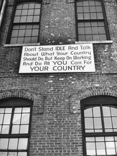 Close-Up of Sign at Brooklyn Navy Yard