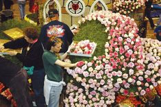 Building a float of flowers, Rose Bowl Parade AND I want to assist with float assembly