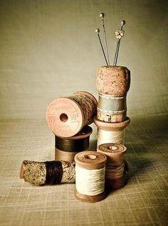 Mit Korken basteln, günstig und kreativ