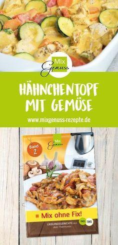 Hähnchentopf mit Gemüse – MixGenuss Blog