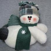 snowman belly flop