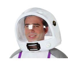 Casco de Astronauta del Espacio para Adulto. Complemento ideal para tu disfraz de astronauta o piloto de la NASA Nasa, Baby Car Seats, Astronaut Helmet, Group Costumes, Astronauts, Waterfalls