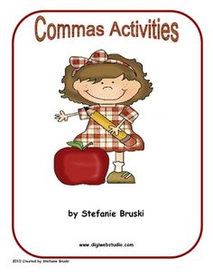 This unit contains three cut and paste activities to teach comma rules including commas in a series, commas in a date, and commas between cities an...