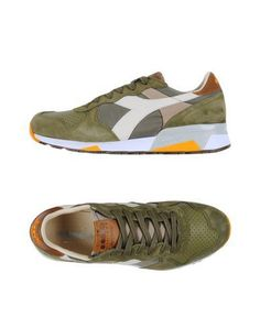 577d9c59a93b DIADORA HERITAGE Men's Low-tops & sneakers Military green 8 US Shoes  Sneakers,
