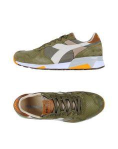 DIADORA HERITAGE Men s Low-tops  amp  sneakers Military green 8 US Shoes  Sneakers 2bba101d14c