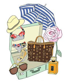 What's in your vacation suitcase?