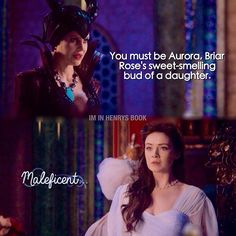 "#OnceUponATime 4x15 ""Enter the Dragon"" - Maleficent and Aurora"