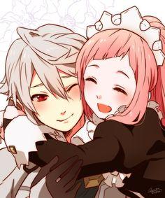 Fire Emblem Fates - Kamui et Felicia