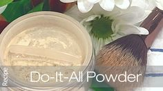 Do-it-all Face Powder Formulation @ Makingcosmetics.com