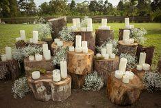 Moss instead of baby's breath. in 2020 Cabin Wedding, Forest Wedding, Woodland Wedding, Fall Wedding, Diy Wedding, Rustic Wedding, Wedding Flowers, Dream Wedding, Wedding Ideas