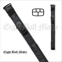 Action Eight Ball Mafia Case - 2x3 - EBMC23A - Hard Embroidered Case