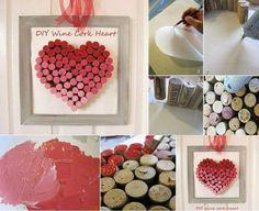 Un regalo facilísimo para San Valentín con corchos