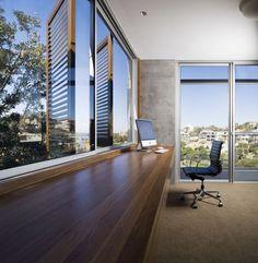 Sleek, beautiful, minimalist office