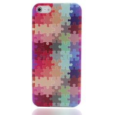 Find More Phone Bags & Cases Information about Colorful Rainbow Puzzle Drawing Embossing Emboss Hard Case Cover Housing for iphone5 5S Free Shipping Gift Packed in Boxes,High Quality gift club,China gift scissors Suppliers, Cheap pack parts from Shenzhen Wonbuy Technology Co.,Ltd on Aliexpress.com