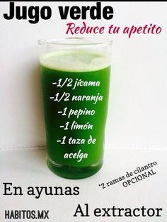 Hábitos  Reduce apetitos