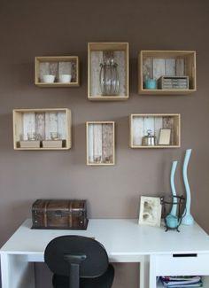 Triplex kistjes van de Xenos kan je ook als opbergers/ boekenkastjes ...