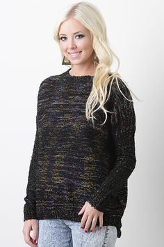Complete your fall fashion wardrobe with the Naive Piece Sweater.