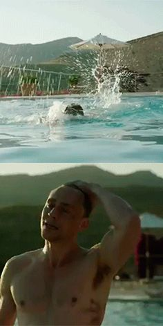 Tom Hiddleston as Jonathan Pine in The Night Manager. Wow...