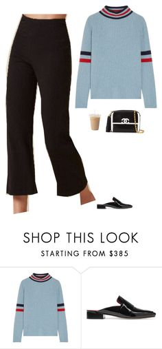 """Untitled #2146"" by tayloremily218 on Polyvore featuring The Elder Statesman, Dorateymur and Chanel"
