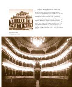 Calea Victoriei in perioada interbelica Bucharest Romania, National Theatre, Louvre, Exterior, Outdoor Rooms