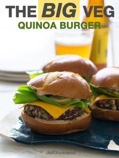 The Big Veg Quinoa Burger
