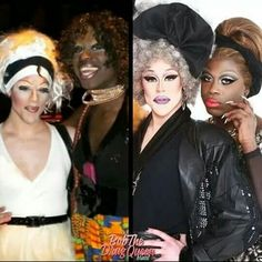 Thorgy Thor and Bob The Drag Queen serving way back when and now Bob The Drag Queen, Rupaul Drag, Drag Queens, Transformation Tuesday, Season 8, Annoyed, My Girl, Thats Not My, Halloween Face Makeup